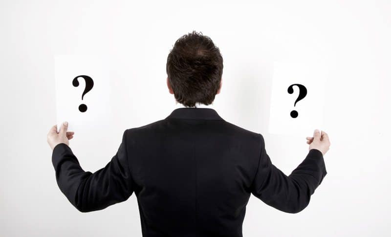 Man-with-question-marks