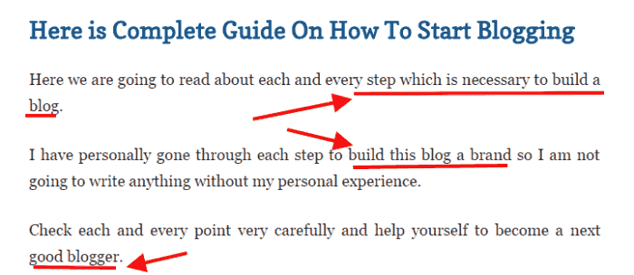 step-by-step to blogging