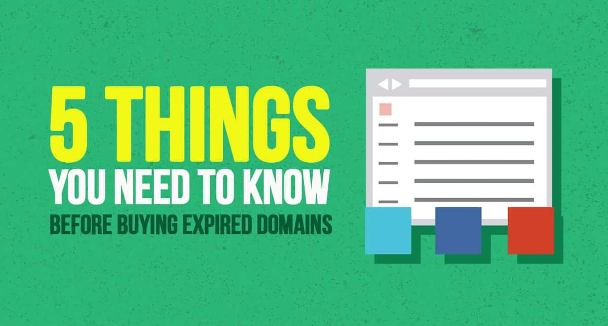 expired domains business
