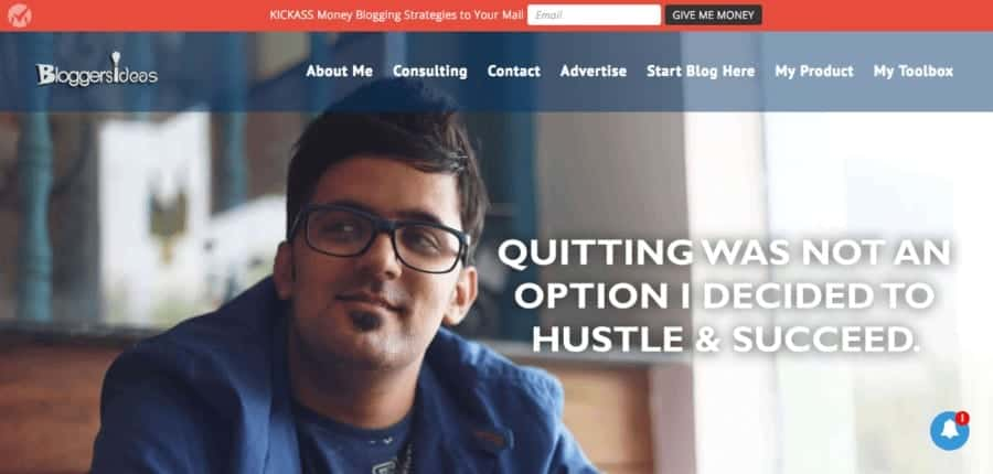 how to become a successful blogger in india