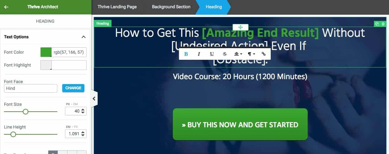 Thrive Architect Review: An Amazing Visual Landing Page Builder 10