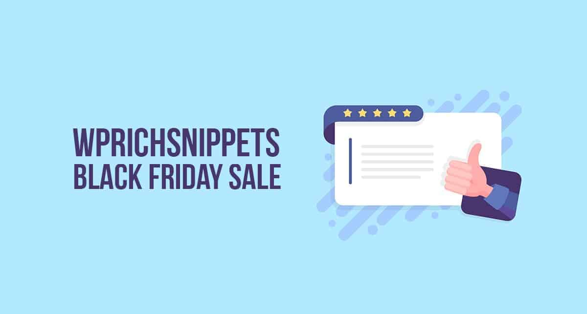 Wprich Snippets Black Friday Deal 2020 Up To 50 Discount