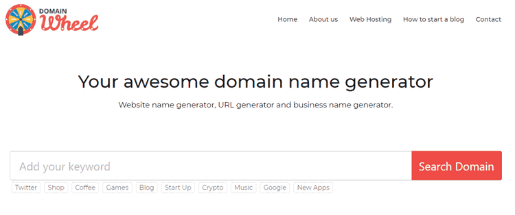 17 Blog Name Generators to Find Great Domains with Ease 10