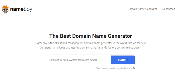 17 Blog Name Generators to Find Great Domains with Ease 11