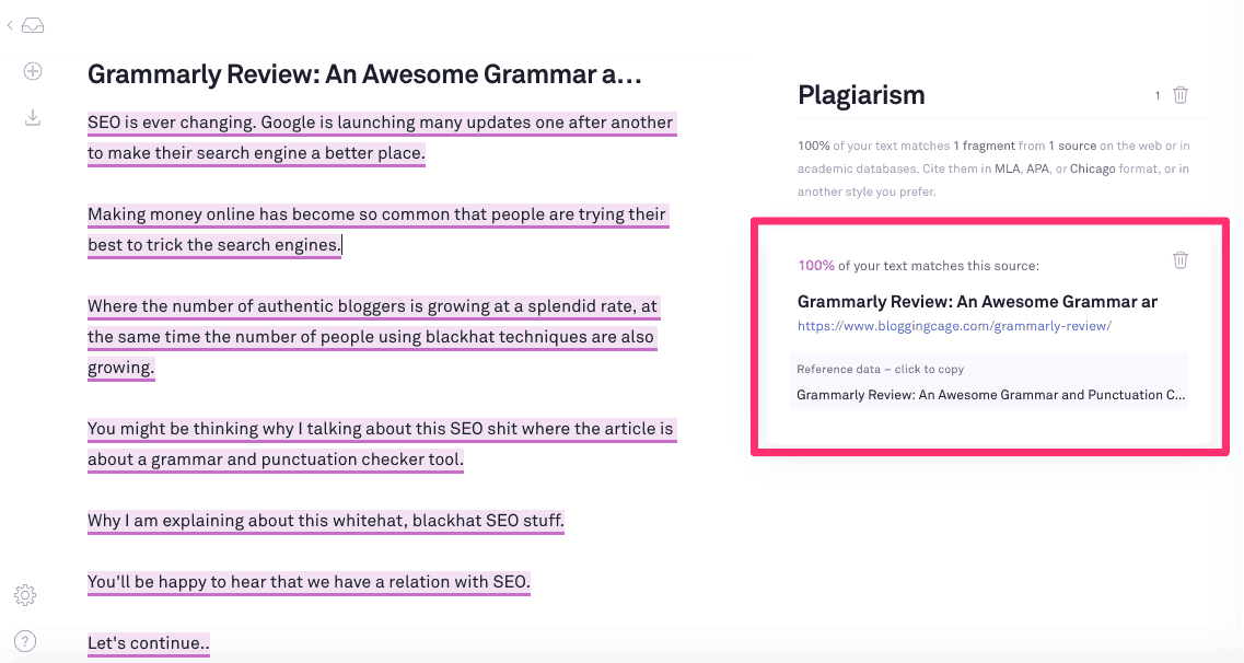 Grammarly Review: An Awesome Grammar and Punctuation Checker 3