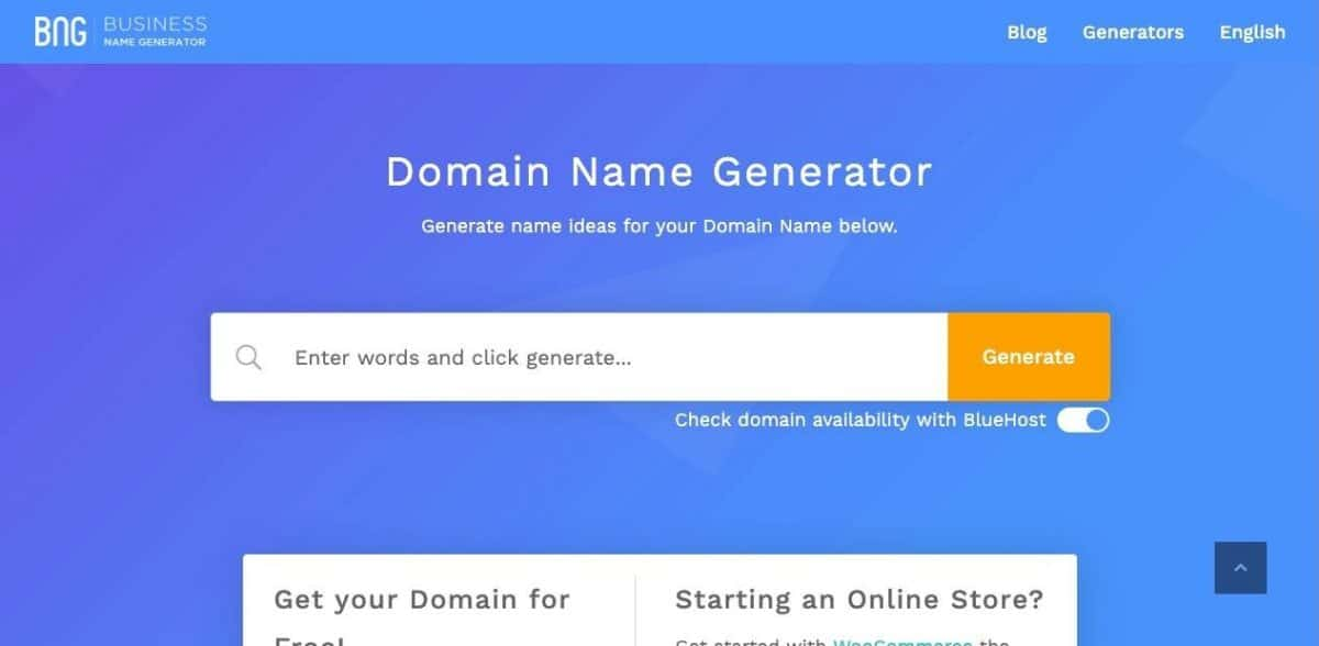 17 Blog Name Generators to Find Great Domains with Ease 16