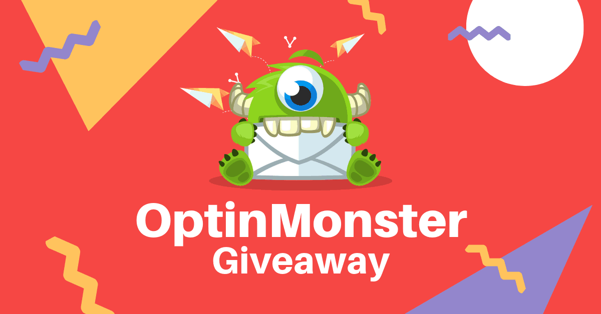 OptinMonster Pro Giveaway - 1 Year License Worth $348 (3