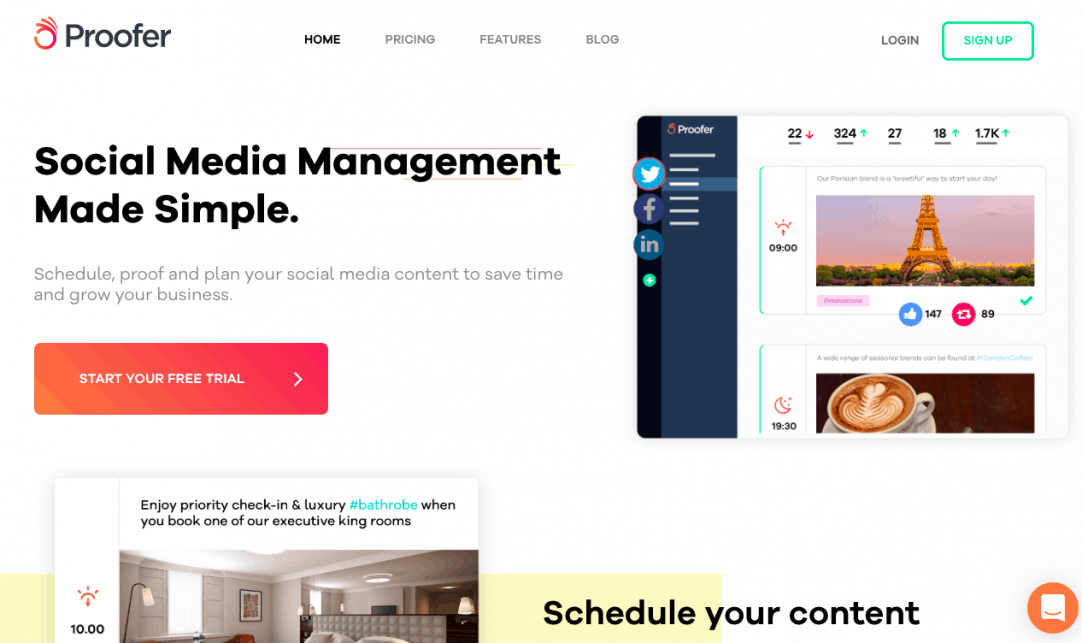 25 Best Social Media Management Tools to Schedule Your Content 26