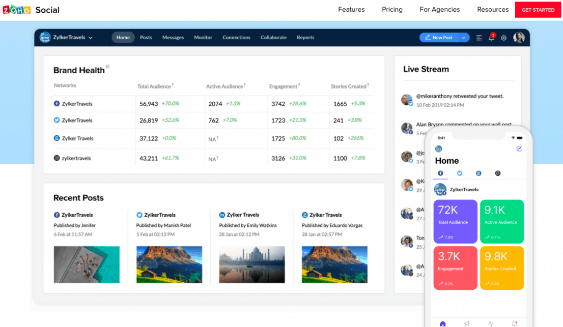 25 Best Social Media Management Tools to Schedule Your Content 18