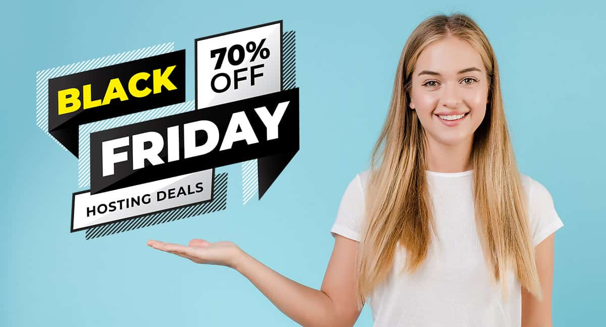 10 Black Friday/Cyber Monday Hosting Deals for Bloggers 1