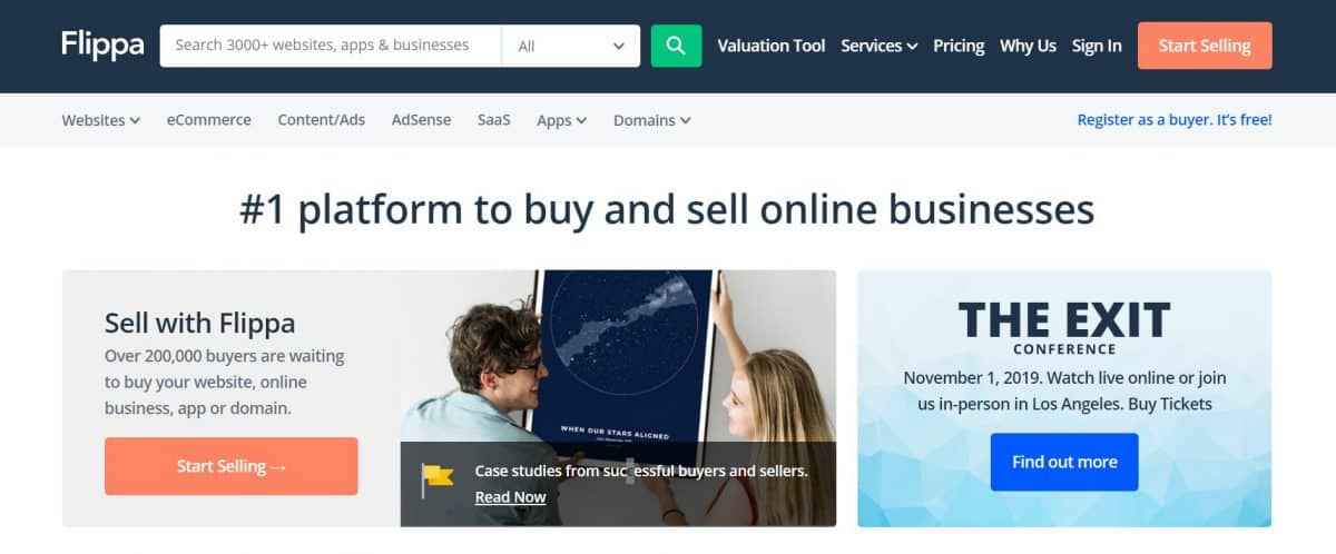 9 Awesome Platforms to Buy and Sell Websites in 2020 3