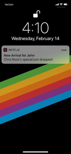 Image result for netflix notifications