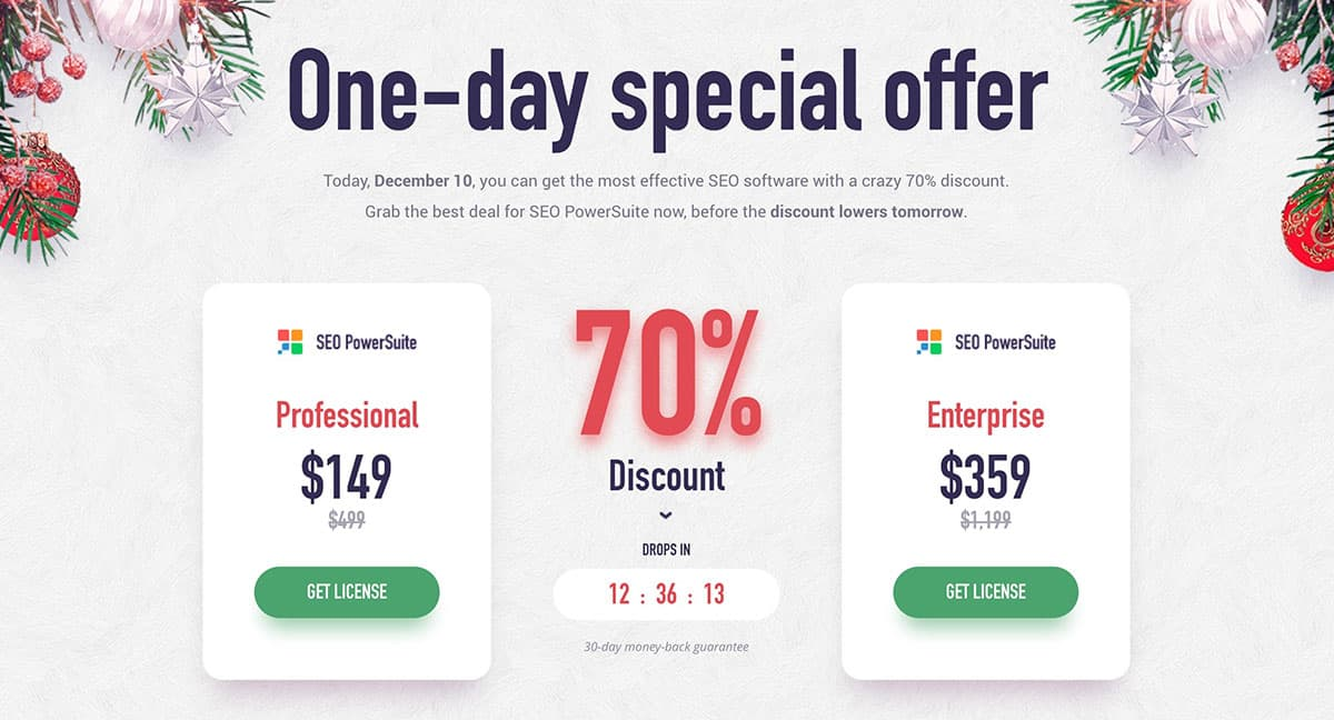 SEO Powersuite Black Friday Deal 2020: Flat 70% Discount! 1