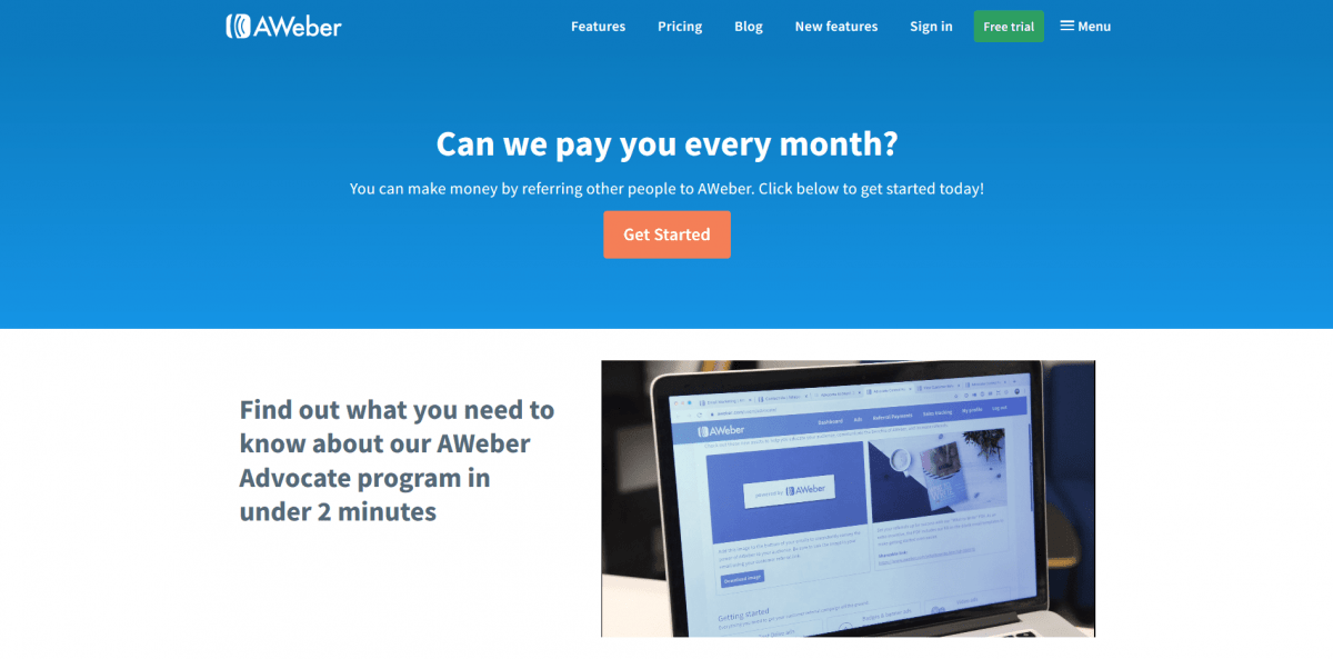 AWeber is ultra-popular email marketing tool
