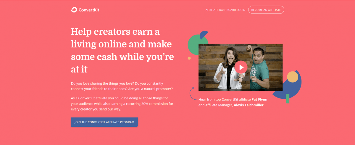 ConvertKit helps marketers and bloggers