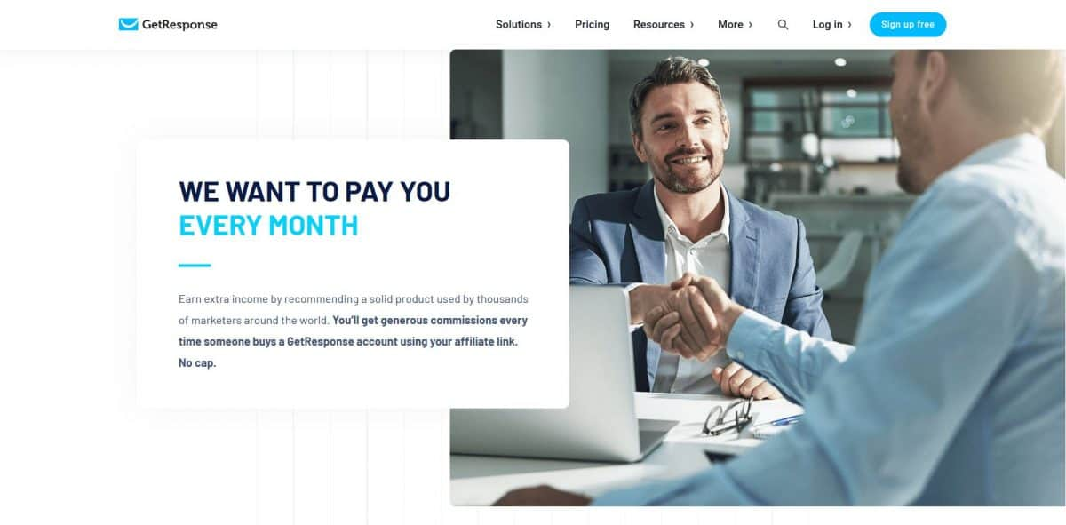 GetResponse is one of those products marketing experts