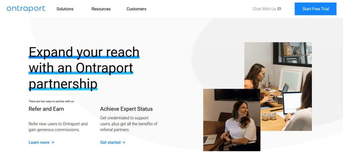 Ontraport helps built-in CRM enables marketers