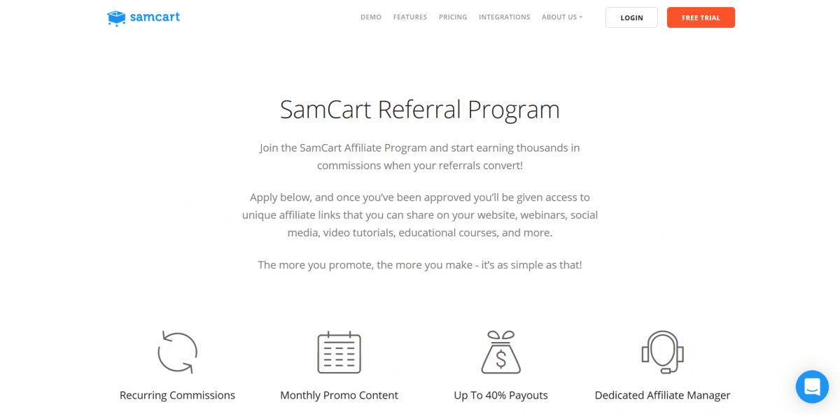 SamCart is a feature-loaded marketing suite for upsell