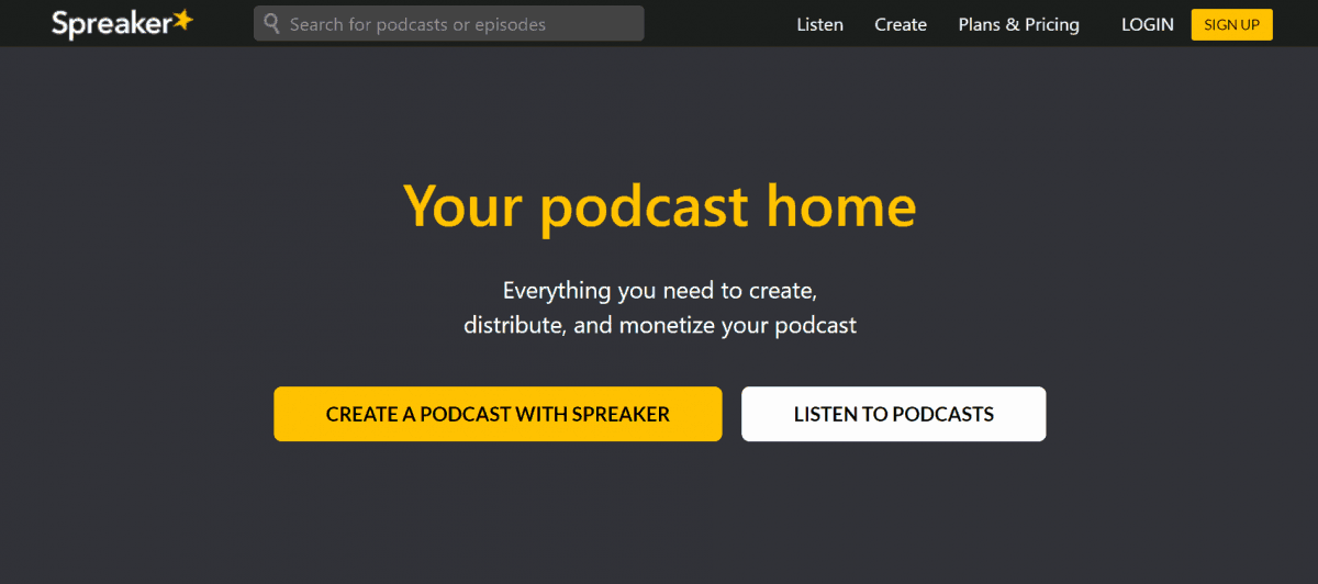 15 Best Podcast Hosting Sites to Start a Professional Podcast in 2020 7