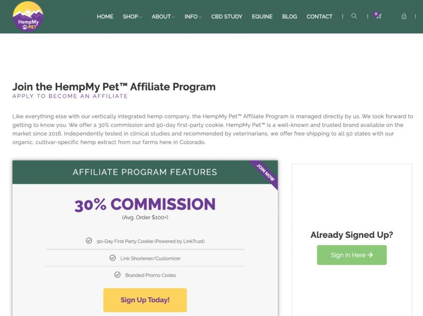 Best CBD Affiliate Programs