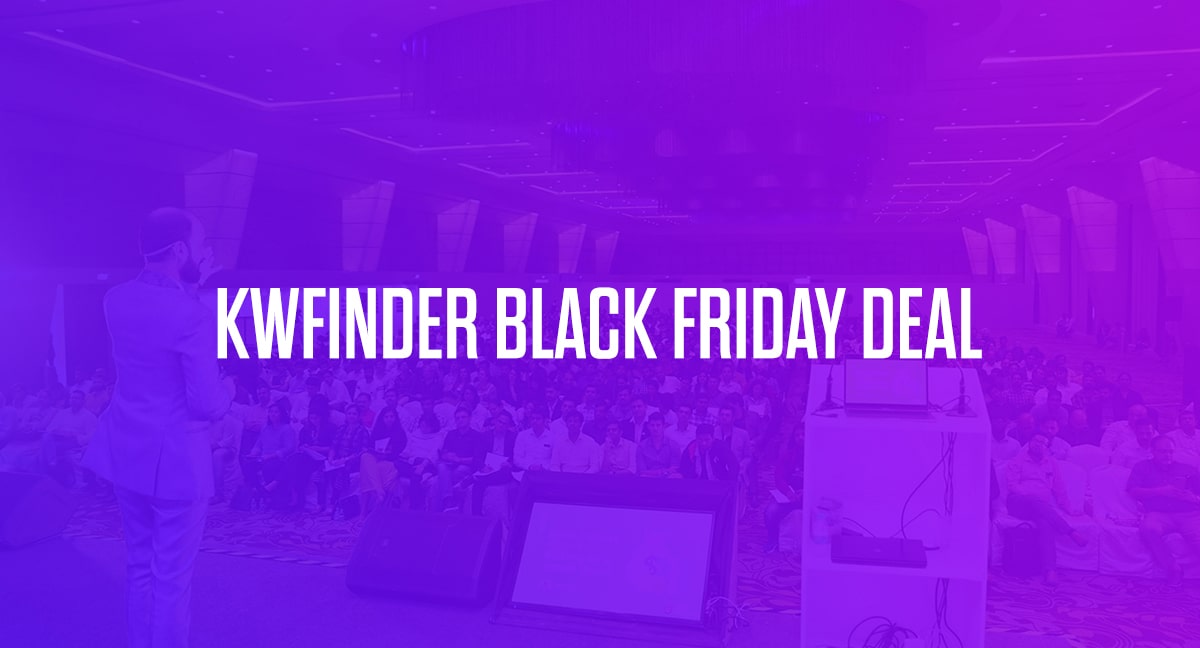 KWFinder Black Friday 2020 Sale: 25% Lifetime Discount