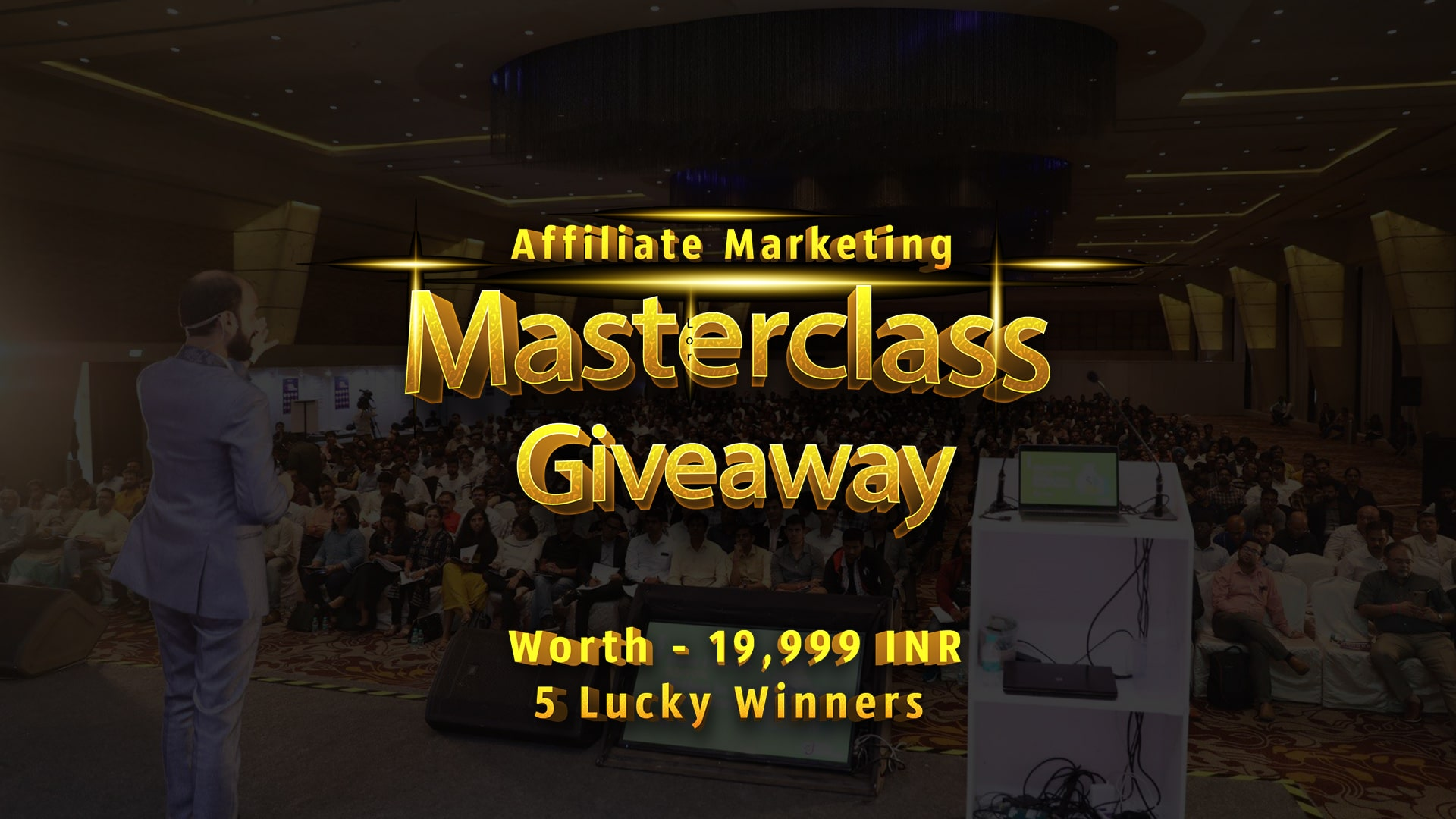 Affiliate Masterclass Giveaway - Win Premium Training Worth 19,999 INR 1
